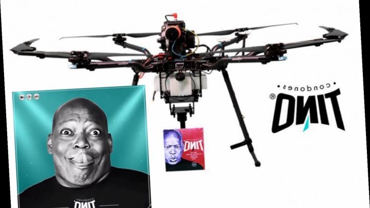 Newcastle legend Asprilla helps coronavirus fight by delivering condoms via DRONE after pledging to supply 3.5m rubbers – The Sun