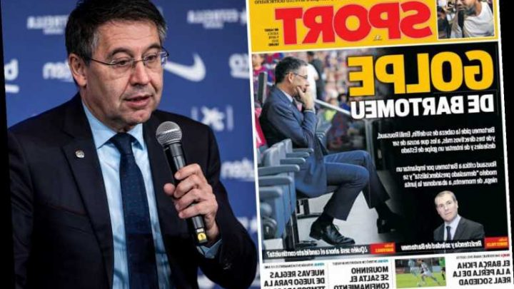 Barcelona board in turmoil after president Bartomeu demands vice-president resign for 'leaks' and FIVE directors quit – The Sun