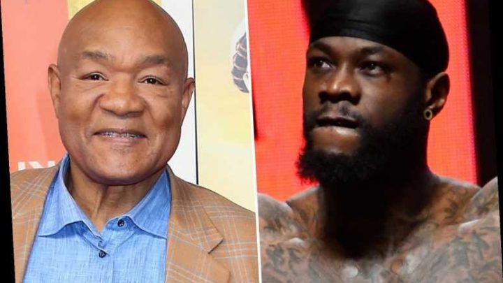 Deontay Wilder to plot Tyson Fury's downfall with legend George Foreman when rearranged trilogy bout is announced – The Sun