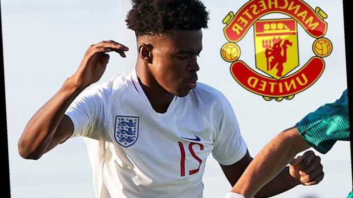Man Utd eye transfer move for Carney Chukwuemeka, who Aston Villa reckon is England's best 16-year-old – The Sun