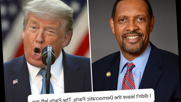 Democrat endorses Trump as president over record on black employment – only for his own party to call him 'embarrassing' – The Sun