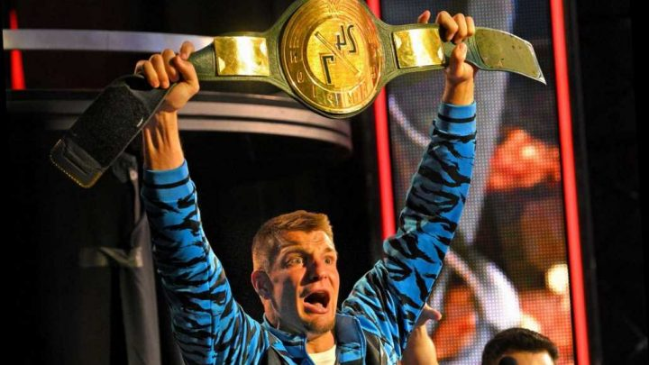 WWE star Rob Gronkowski to beef up security in stadiums when he makes NFL comeback to stop him losing 24/7 title – The Sun