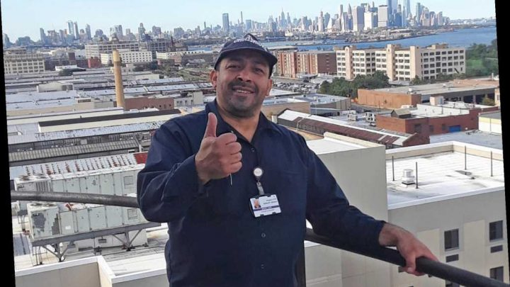 Hero of the Day: Mechanic isolates from family to keep NYC hospital running