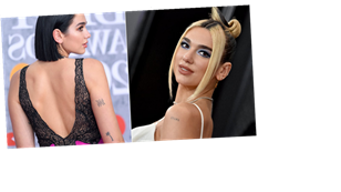 Dua Lipa Has Been Building Her Collection of Tiny Tattoos Since 2015