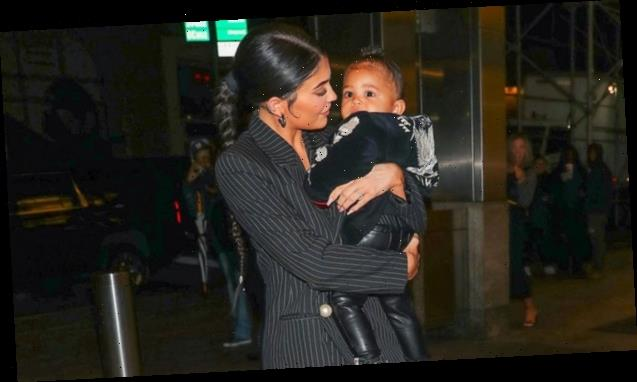 Stormi Webster Lets Out The Cutest Laugh When Kylie Jenner Tries Dragging Her Home — Watch