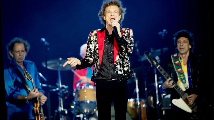 Rolling Stones top charts with 'Living in a Ghost Town'