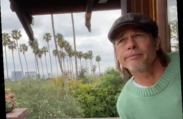 John Krasinski Recruits Brad Pitt for Epic Weather Report