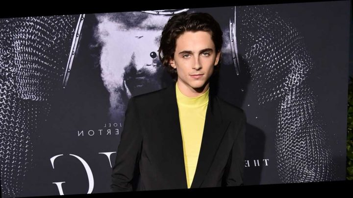 Here's Your First Look at Timothée Chalamet and His Overcoat in Dune