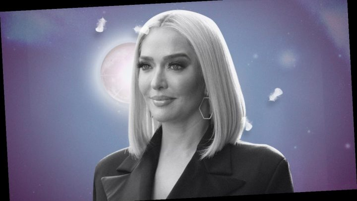 Erika Jayne Lounges in Lisa Rinna's QVC Duster, Sleeps on Custom Sheets, and Listens to CNN 24/7
