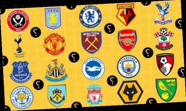 Premier League teams quiz: Are you the ultimate football fan?