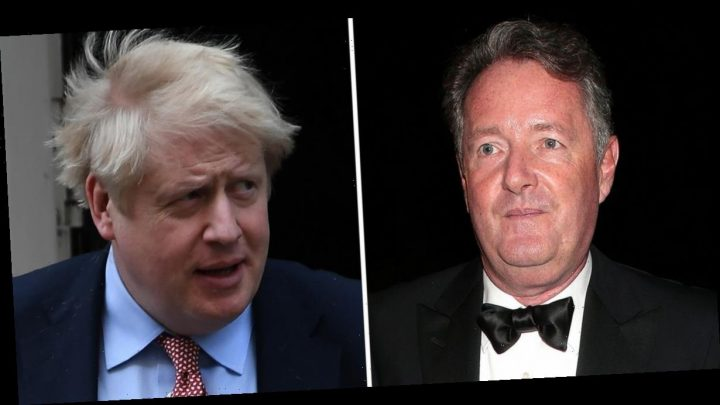 Piers Morgan brands Boris Johnson 'disgusting' for raising fees on NHS workers who saved his life