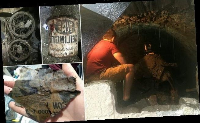 New homeowner stunned to find secret 120-year-old cellar under home