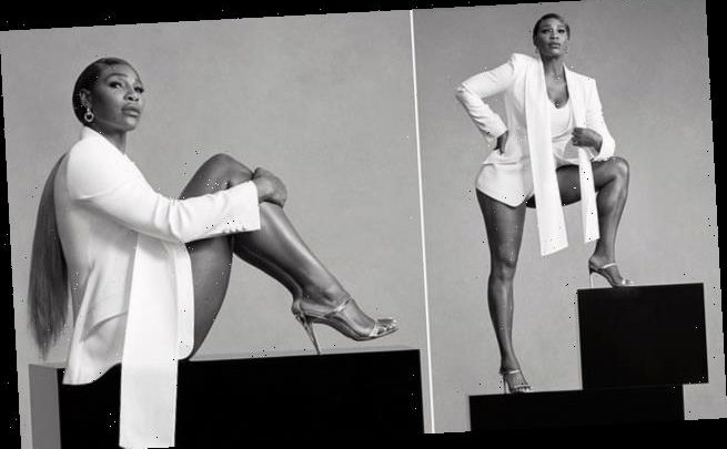 Serena Williams poses for stunning Stuart Weitzman campaign