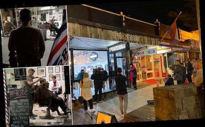 New Zealand lifts coronavirus lockdown as barbers open at midnight
