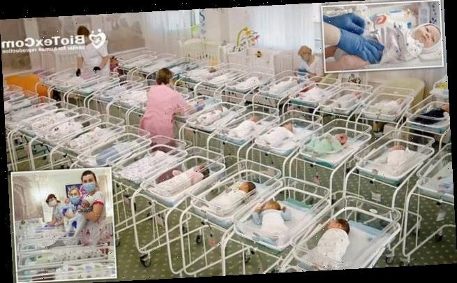 46 babies stranded in Ukrainian hotel due to coronavirus lockdown