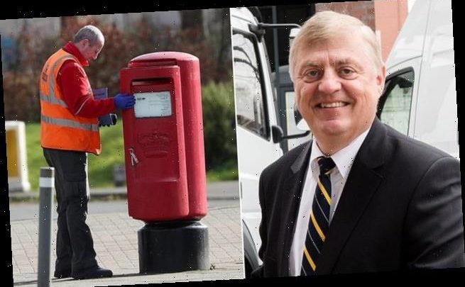 Royal Mail's German chief executive Rico Back steps down