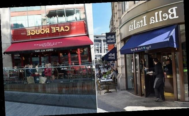 The future of 6,000 workers is in doubt at Bella Italia and Cafe Rouge