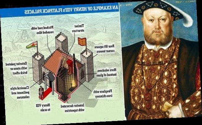 Henry VIII hated camping so much he slept in 'houses of timber'