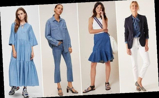 Cool new summer blues: How to wear denim