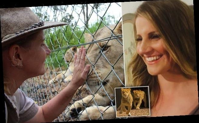 PICTURED: Experienced zookeeper, 35, who was mauled by two lions