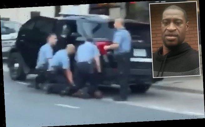 George Floyd video shows three officers kneeling on him