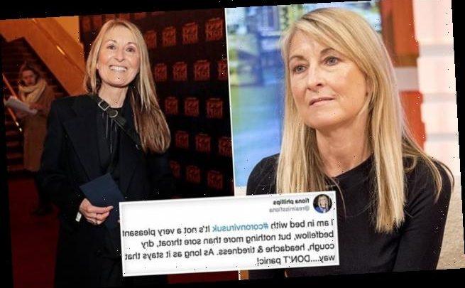 Fiona Philips reveals how trolls taunted her while she had coronavirus