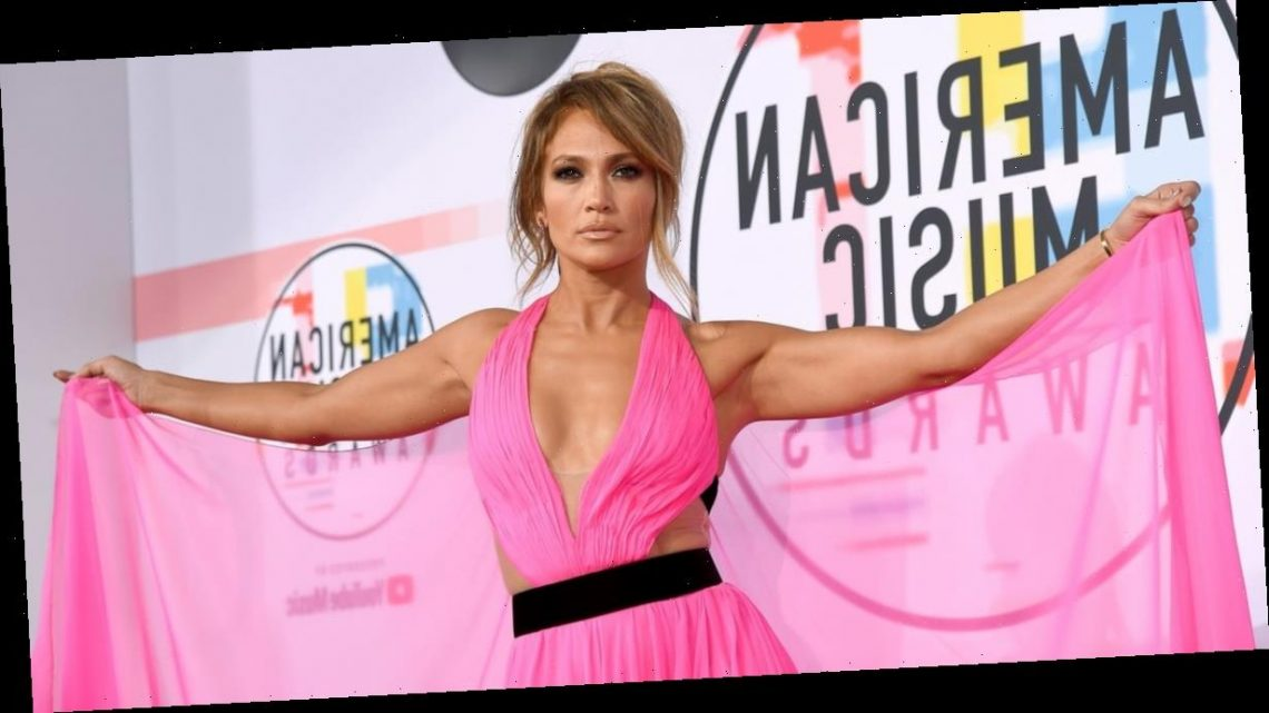 J Lo's Electric-Pink Gown From 2018's AMAs Is Being Auctioned Off For Coronavirus Relief