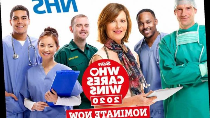 Nominate your NHS heroes for The Sun's Who Cares Wins health awards HERE – The Sun