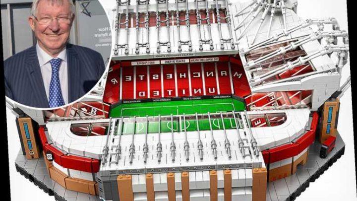 Sir Alex Ferguson gets a Lego set of Old Trafford to keep him busy in lockdown – The Sun