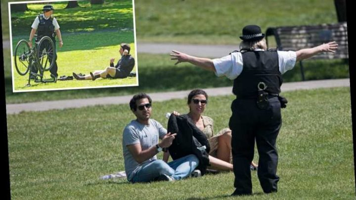 Sunbathing in parks is BANNED this bank holiday weekend as Govt issues strong warning to Brits – The Sun