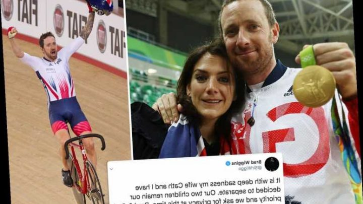 British Olympic cycling legend Sir Bradley Wiggins and wife Cath announce they are separating after 16 years of marriage – The Sun