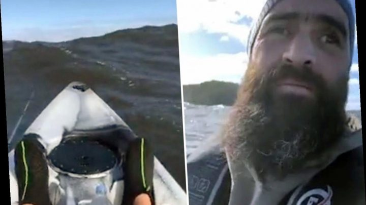 Kayaker's heartbreaking 'final plea for help' in Facebook Live video hours before rescuers found his body at sea – The Sun