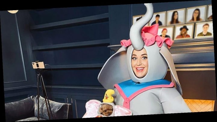 Katy Perry Wears the Craziest Costume for the 'Disney Singalong'