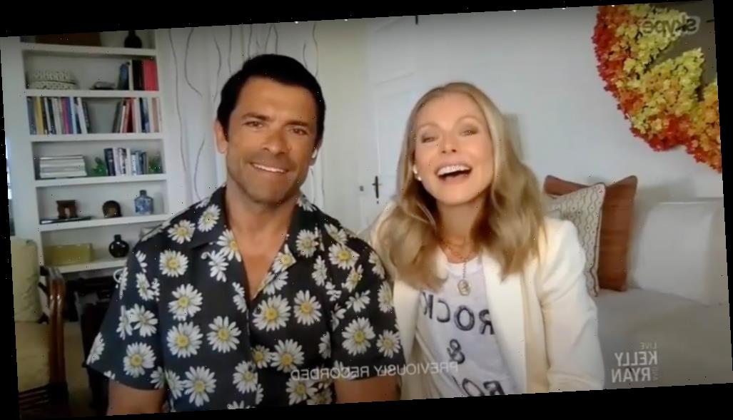 Kelly Ripa and her family have been in the Caribbean this whole time