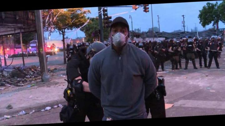 George Floyd – CNN reporter Omar Jiminez arrested live ON AIR while covering Minneapolis riots – The Sun