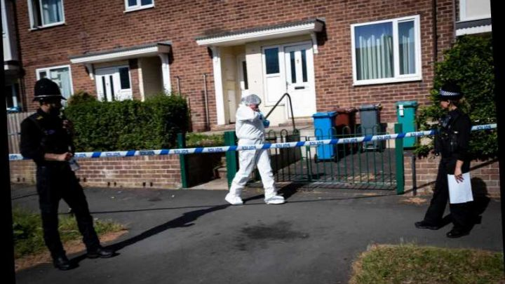 Two women, 27 and 36, and boy, 15, arrested for murder after man, 51, stabbed to death in Manchester – The Sun