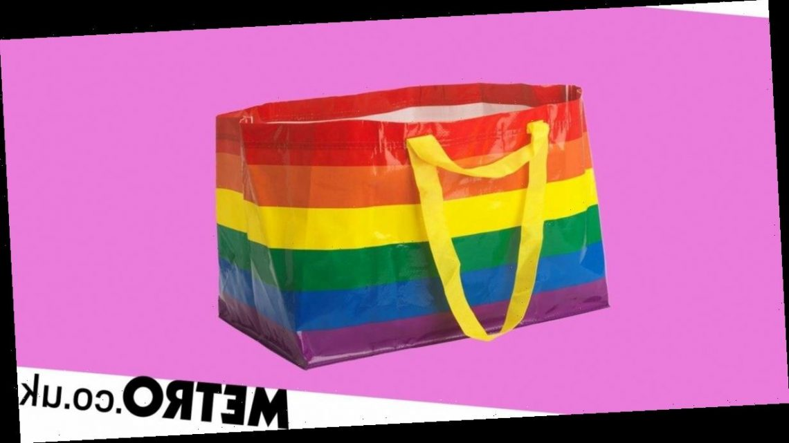 Ikea launches rainbow version of its big blue bag to celebrate Pride