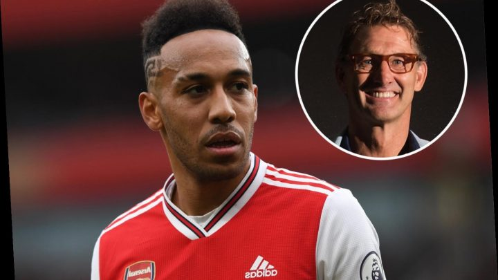 Aubameyang could 'walk out the door' at Arsenal fears Tony Adams who admits Gunners have become a selling club – The Sun