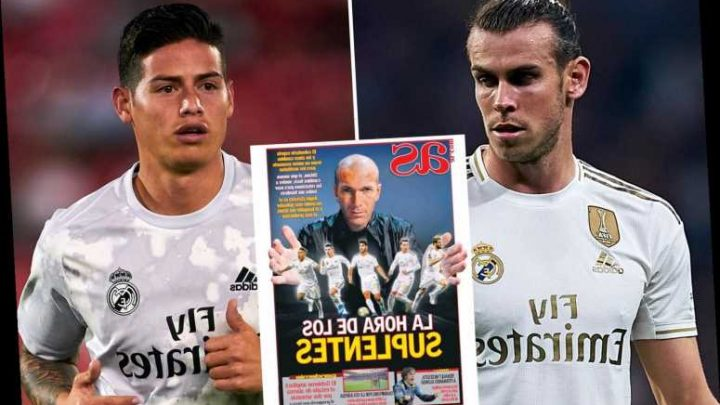 Zidane tells his Real Madrid squad 'I need you ALL' to pull off Double despite doubts about Bale and Rodriguez's futures – The Sun