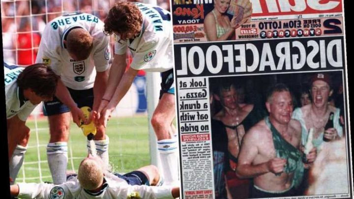 Gazza used Bunsen burner to light cigar at breakfast the day after England's 'dentist chair' night out before Euro 96 – The Sun