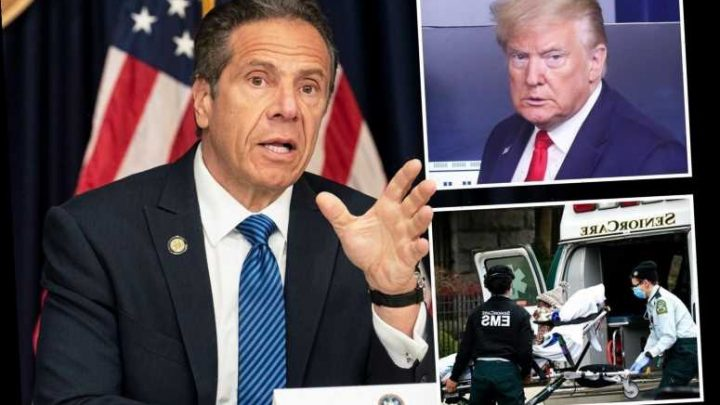 Cuomo defends sending 4,500 coronavirus patients to 'vulnerable' nursing homes saying he followed White House policy – The Sun