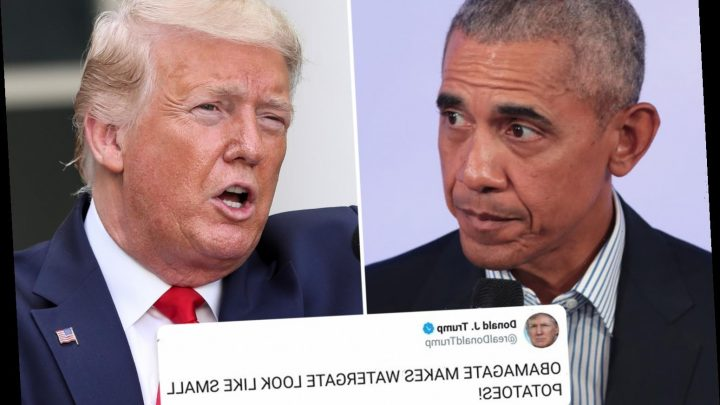 Trump says 'it's CLEAR the Obama administration spied on his campaign' after 'Obamagate' claims – The Sun