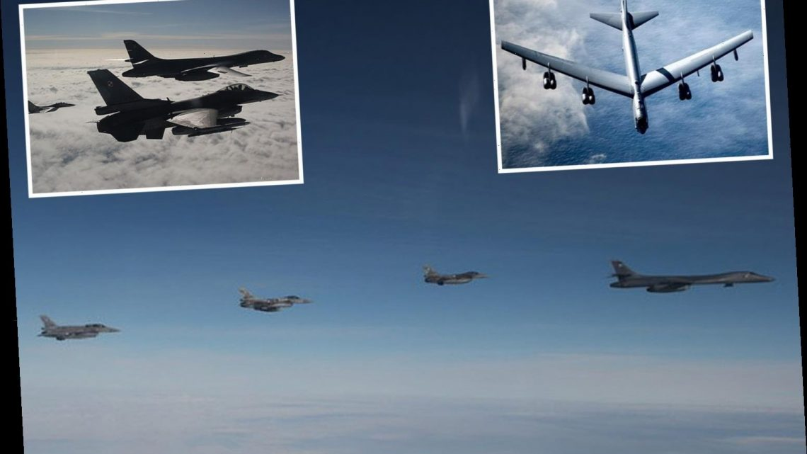 Massive US nuclear bombers deployed in Europe for training in impressive show of force against China and Russia – The Sun