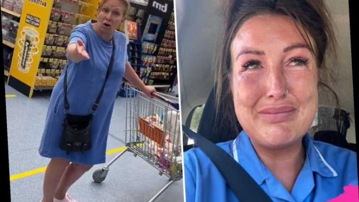 Care worker in tears after woman accuses her of 'spreading germs' as she's shopping in her uniform in B&M – The Sun