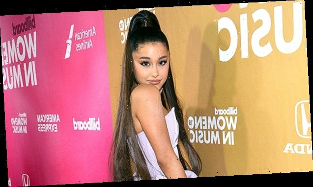 Ariana Grande Ditches Her Signature High Ponytail For Long, Straight Locks In New Quarantine Selfie