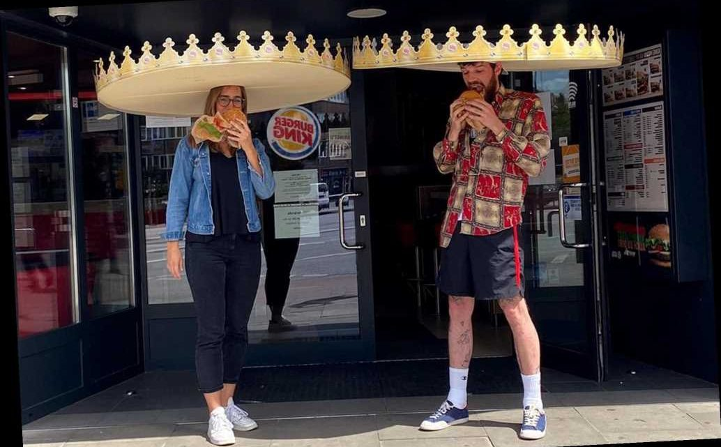 Burger King debuts giant crowns to encourage social distancing
