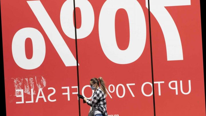 Shoppers to enjoy biggest summer sales on record as retailers try to flog unsold stock