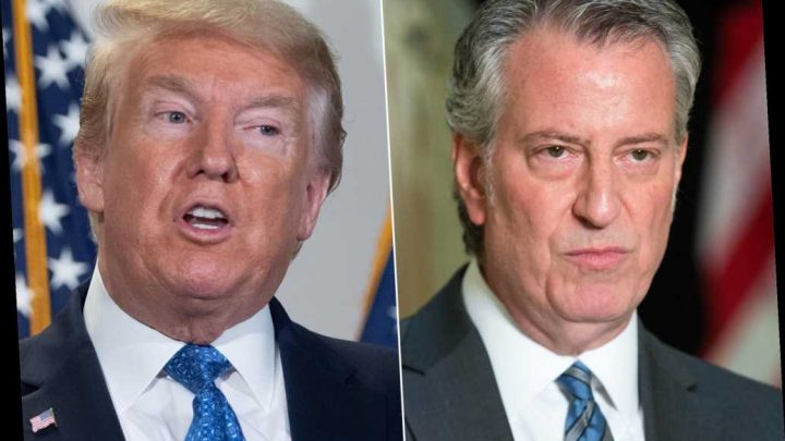 De Blasio calls Trump's order to reopen churches 'dangerous' for NYC