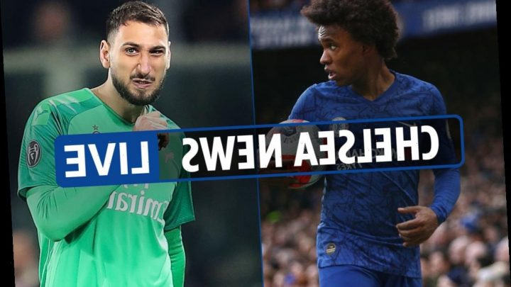 1pm Chelsea news LIVE: Donnarumma can leave for £43m, Willian 'is going to Tottenham', Bird transfer imminent – The Sun