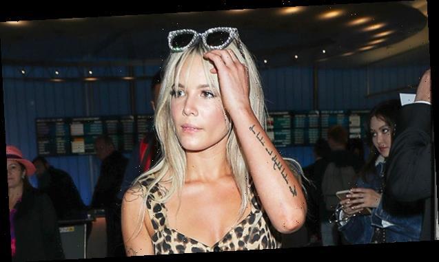 Halsey Goes Makeup-Free & Stuns In Polka Dot Bikini — See Glam Pic